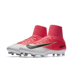 new concept ff0a6 87e88 Nike Mercurial Superfly V Firm-Ground Soccer Cleats Size 12.5 (Pink) -  Clearance
