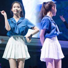 Korean students pleated skirt