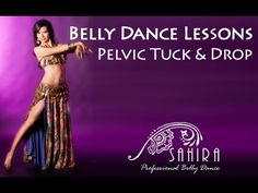 Belly Dance Lessons - Pelvic Tuck - YouTube