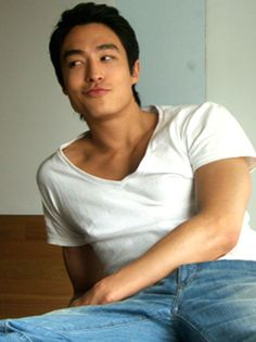 "Daniel Henney - ""How you doin?"" lol"