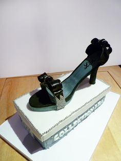 Shoes Design Cake ©Une Fille en Cuisine