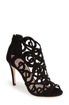 Free shipping and returns on Klub Nico 'Marla' Laser Cutout Peep Toe Bootie (Women) at Nordstrom.com. Extravagant laser-cutout curlicues and scrolls define the decadent straps of an enchanting peep-toe bootie.