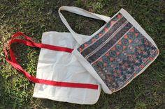 DIY Ecobag #DIY #façavocêmesmo #artesanato #tecido #customização #ecobags