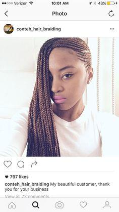 Celebrities and Their Hair Braids – Lavish Braids Senegalese Hairstyles, Ghana Braids Hairstyles, Weave Hairstyles, Hairdos, Hair Growth Tips, Hair Tips, Hair Ideas, Side Cornrows, 5 Strand Braids