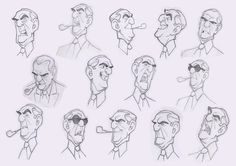 Borja Montoro - Character Design for 'Giacomo's Secret'