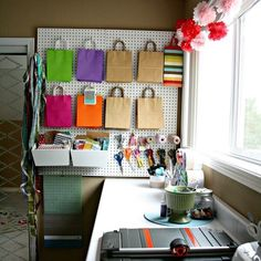 """Hey all! It's Kim from Today's Creative Life (follow me here >>> @TodaysCreativeBlog) and I'm taking over the instagram feed for Porch today! I'm sharing creative and functional projects like my well used Craft Room! This craft room isn't put together for a magazine it's for function! Yep I'm the one looking at staged photos and wondering """"How is that functional?"""" Sure it's pretty but we need REAL examples right? I'm sharing a REAL craft space! Install cabinets in a spare room along with a…"""