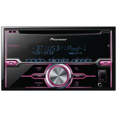 Pioneer Double-din In-dash Cd Receiver With Mixtrax Bluetooth Siri Eyes Free Usb Pandora Ready Android Music Support & Color Customization