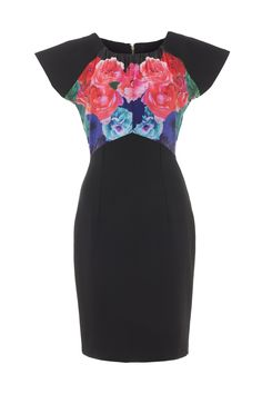 Wolf & Whistle Floral Ombre Dress www.wolfandwhistle.co.uk