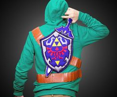 Legend of Zelda Link Hoodie       .                   I NEED this.