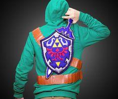 Legend of Zelda Link Hoodie       .                   I NEED this.