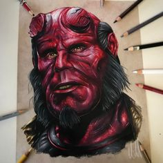 Hellboy, by Adam Milton