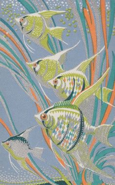 vintage angel fish