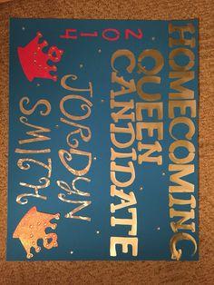 Parade poster; homecoming
