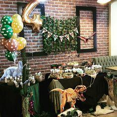 Jurassic park birthday party  #jurassicpark #dinasour  Dinazor temalı doğumgünümüz  MİOLA DAVET VE ORGANİZASYON 0224 999 5 333 BURSA