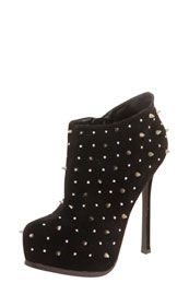 Lola Suede All Over Studded Boot