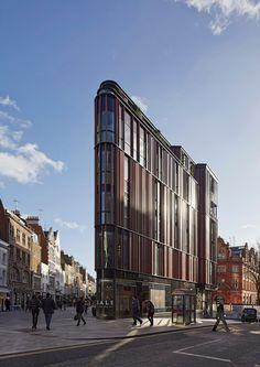 South Moulton Street Building - DSDHA - Oxford Street, London