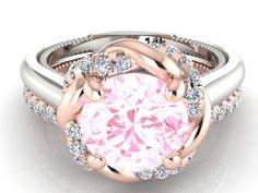 Bohemian Wedding rings set, TWO TONE Bridal Ring set, Wedding and Engagement rings set, Venetian Collection by Bridal rings by BridalRings on Etsy https://www.etsy.com/listing/258739167/bohemian-wedding-rings-set-two-tone