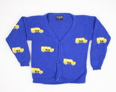 Vintage Back To School Sweater Toddler Boy by ShopTwitchVintage, $12.00 #vintage #etsy #toddler #boy #girl