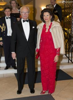 The King and Queen Of Sweden visit Latvia 3/27/2014