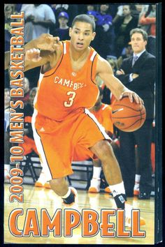 2009-10 CAMPBELL FIGHTING CAMELS FALL WINTER POCKET SCHEDULE MENS WOMENS BSKTBLL #Schedule