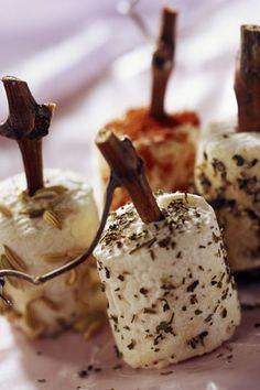 Quesitos de cabra al tomillo -TELVA #RecetasTELVA #Cocina #Quesos