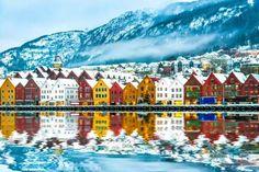 Bergen, Noruega - Proporcionado por Ceslovas Cesnakevicius
