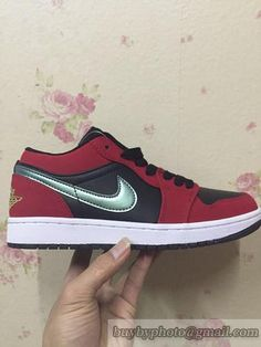 fa9cff08885 Men's Air Jordan AJ1 Low Jordan 1 Basketball Shoes Low Red 553558-036|only  US$98.00 - follow me to pick up couopons.