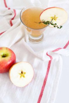 Recipe File: Sparkling Apple Rum Punch