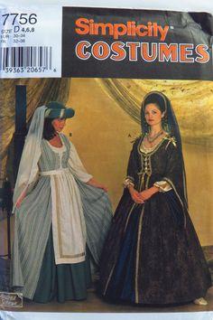 Simplicity 7756 Misses' Costumes