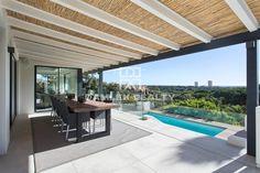 Luxury Villa for sale in Marbella, Spain - 50535205 Three Floor, Entrance Hall, Large Windows, Luxury Villa, Pergola, Marbella Spain, Outdoor Structures, Living Room, Building