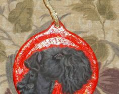 Items similar to Kerry blue terrier digital art, printable poster. on Etsy