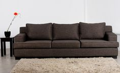 Tuscany 3.5 Seater Sofa with Boxed Cushions | Kiwi Bed Company - would love this in white linen