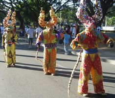 History Of Carnival In Trinidad masks | The history of carnival celebrations in The Dominican Republic