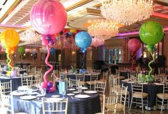 Colorful Marble Balloons