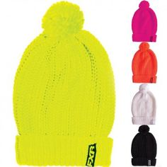 FXR Racing Cozy Womens Snowmobile Skiing Sports Knit Beanies