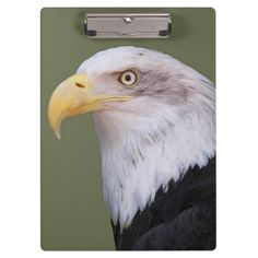 American Bald Eagle Photo Clipboard Custom Office Retirement #office #retirement