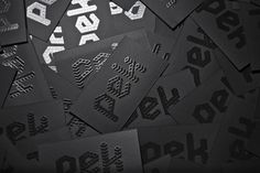 PEK Visual Project by Ana Laydner, via Behance