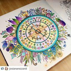 """Detox do mundo virtual on Instagram: """"#Repost @josianarezzardi ・・・ O terceiro! Aí uma pessoa me disse que isso é inútil e que, se eu queria colorir, era só imprimir um…"""""""