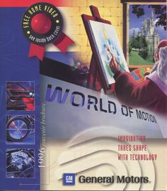 World of Motion Brochure from Epcot Center in Walt Disney World. Via @MKPony