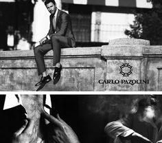 Noah Mills - The Carlo Pazolini gentleman. SS2013 Campaign