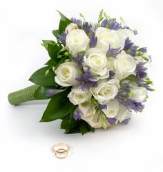 Wedding flowers - cover them with Dreamsaver wedding insurance cover Rose Bridal Bouquet, Wedding Bouquets, Wedding Flowers, Flower Bouquets, Flowers Uk, White Flowers, White Roses, Pretty Flowers, Purple Flowers