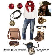 Disney inspired looks: Captain Jack Sparrow
