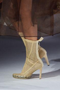 Fendi, Gucci, Vogue Paris, High Fashion, Fashion Shoes, Fashion Hub, Shoe Gallery, Knitwear Fashion, Unique Shoes