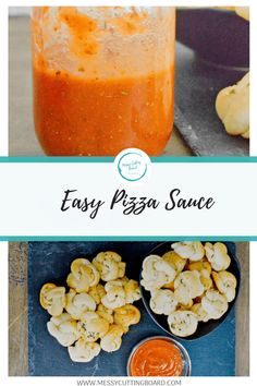 Busy life's call for busy fixes for life and dinner. This quick and easy pizza sauce makes it possible to create a delicious sauce with what you have on hand in a flash.   Simple Recipes   Lunch Recipes   Dinner Recipes   Sunday Dinner   Weeknight Meals   Appetizers   messy cutting board recipe   Meal prep   Easy Prep recipe   Pizza recipe   How to Make Pizza Sauce   Sauce Recipe   Pizza Night   Party Food   Make it simple   fancy and simple
