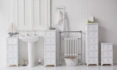 Range of Maine bathroom cabinet tall narrow and slim a perfect furniture to fit & Tall slim narrow 20cm bathroom storage | moving ideas | Pinterest ...