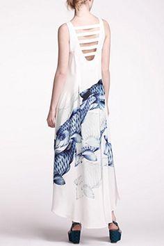 Indigo Shoal Asymmetric Dress | Anthropologie.eu