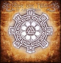 Valknut n Helm of Awe 2013 by Ash-Harrison on DeviantArt