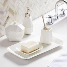 Modern Resin Stone Bath Accessories Bathroom – home accessories Zen Bathroom, Diy Bathroom Decor, Bathroom Furniture, Bathroom Ideas, Stone Bathroom, Neutral Bathroom, Bathroom Canvas, Modern Furniture, Bathroom Inspiration