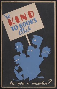 I am always looking for cool signage for the library media center. Recently I came across some awesome retro posters (* of course I used Ph...