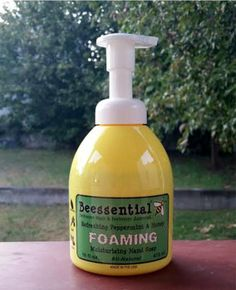 Review: Beessential Refreshing Peppermint & Honey Foaming Moisturizing Hand Soap